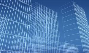 楼房建筑物轮廓图片素材