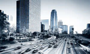 动感城市交通建筑物摄影图片