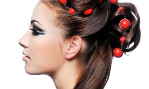 国外美女人物发型系列高清图片2