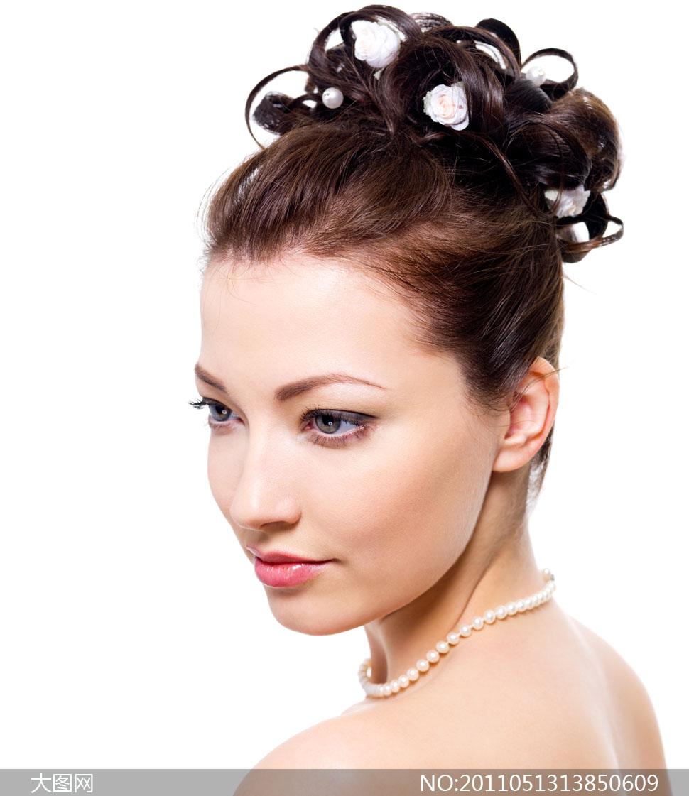 国外美女人物发型系列高清图片4