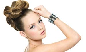 美女人物发型设计高清图片