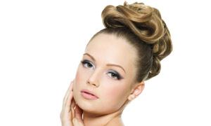 外国美女发型美发高清摄影图片