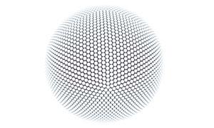 小球有机组合的大球创意图片