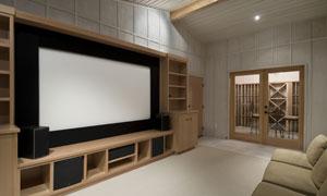 家庭影院布置陈设高清图片