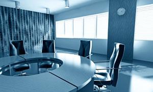 概念风格会议室设计高清图片