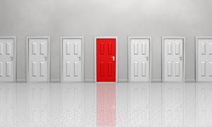 门主题创意设计高清图片