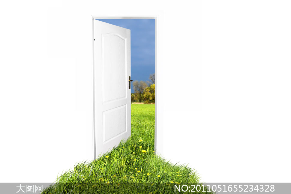 打开房门扑面而来的芬芳图片