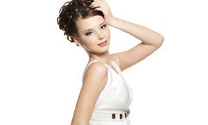 女性人物发型设计高清图片