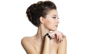 美女发型造型摄影高清图片