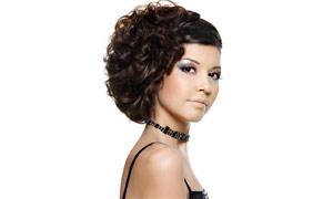 气质美女发型设计高清摄影图片