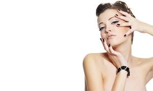 靓丽美女人物发型设计高清摄影图片