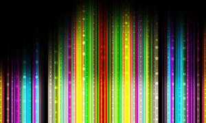缤纷色彩绚丽背景PSD分层素材
