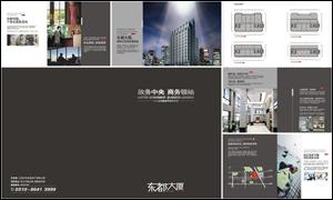 东都大厦楼书画册设计源文件