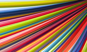 缤纷色彩布条组成的背景高清摄影图片