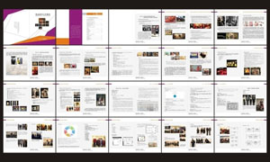 陈列设计手册矢量素材