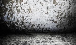 颓废斑驳室内墙面高清摄影图片