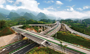 立交桥高架路高清摄影图片