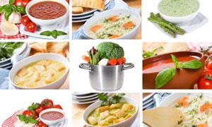 健康饮食主题摄影拼贴高清图片