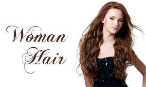棕色卷发美女人物高清摄影图片