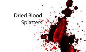 血迹喷溅笔刷