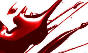 立体感血迹笔刷