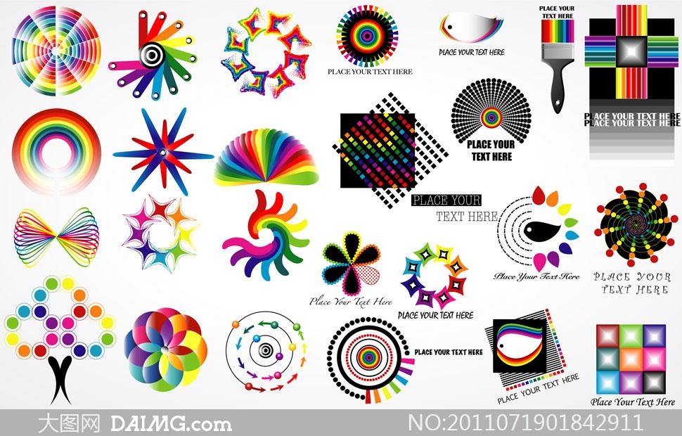 五种平面图形创意画