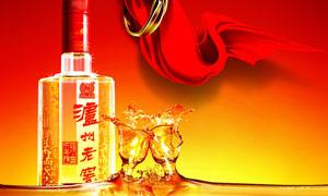 泸州老窑宣传广告设计PSD源文件