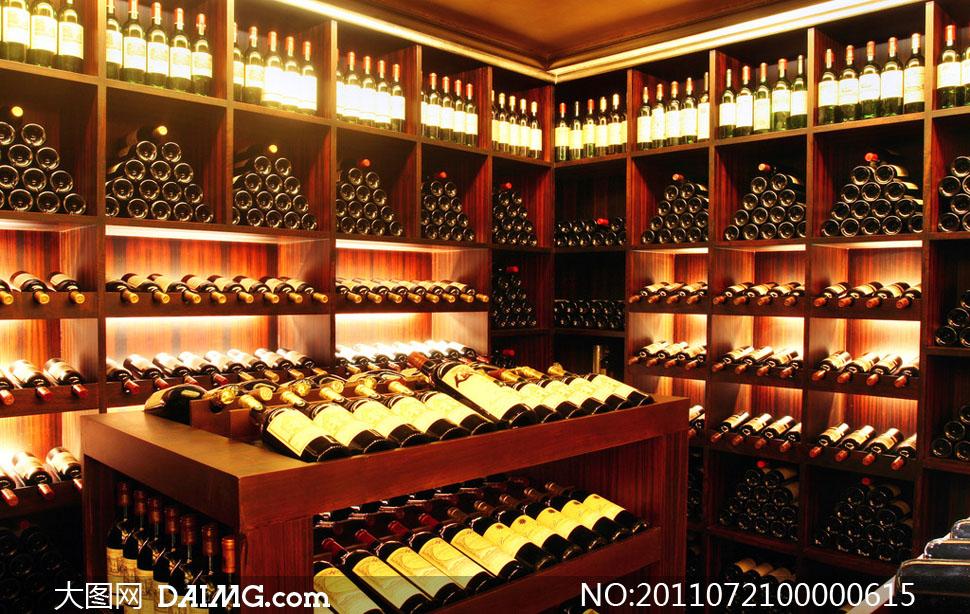 恒温酒窖酒窖葡萄酒酒瓶酒架红酒恒温饮料