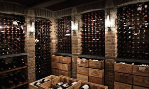 葡萄酒窖高清摄影图片