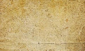 泛黄褶皱牛皮纸高清摄影图片