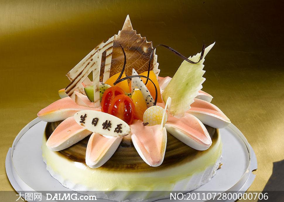 老虎形状设计蛋糕