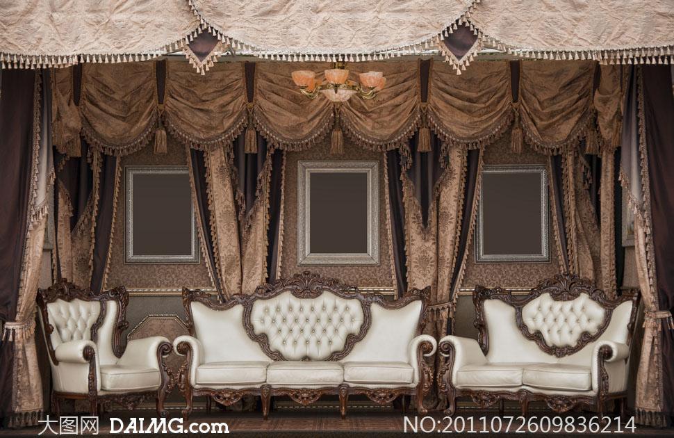 关键词: 高清大图摄影图片素材室内空间欧式陈设摆设布置欧洲风格家具