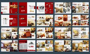 装潢公司画册设计矢量源文件
