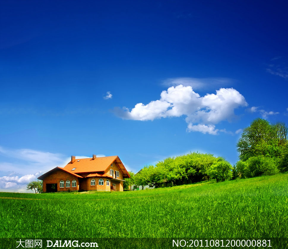 大图首页 高清图片 自然风景 > 素材信息          麦田风景高清摄影图片