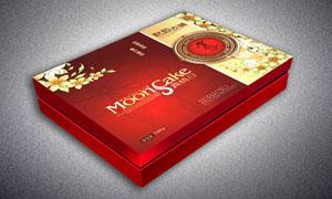 月饼盒包装设计矢量源文件