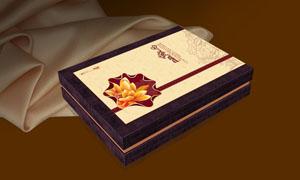 中秋月饼包装效果图设计矢量素材