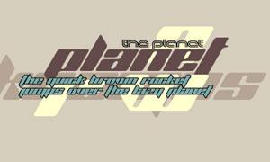 PlanetKosmos英文字体免费下载