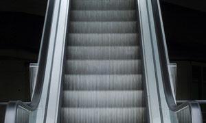 商场自动扶梯特写摄影高清图片