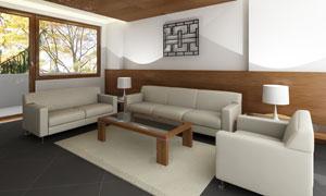 古典与现代风格室内家具陈设高清图片