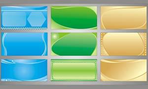 精美质感的展板背景设计矢量素材