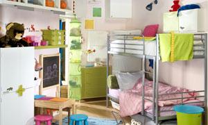 幼儿园儿童房设计高清摄影图片