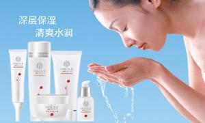 同仁堂护肤品清润系列广告设计源文件