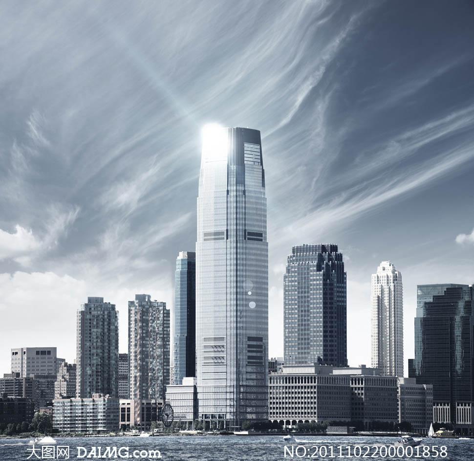 城市风景都市印象+高楼大厦