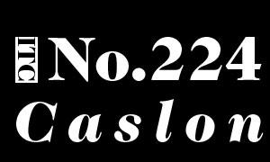 ITCCaslon224Std系列英文字体下载