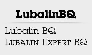 LubalinBQ&LubalinExpertBQ系列字体下载