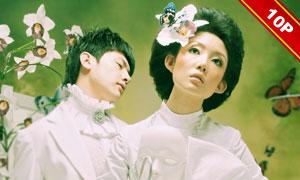{迷情卡特兰}跨页婚纱模板(2011版)