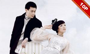 {威尼斯水岸}宽幅婚纱模板(2011版)