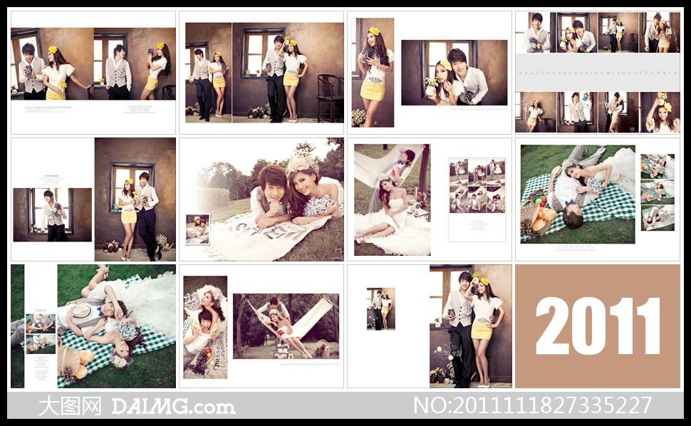 特别说明:  {水果拼盘}婚纱样; 婚纱照相册版式设计; 韩式婚纱特写照图片