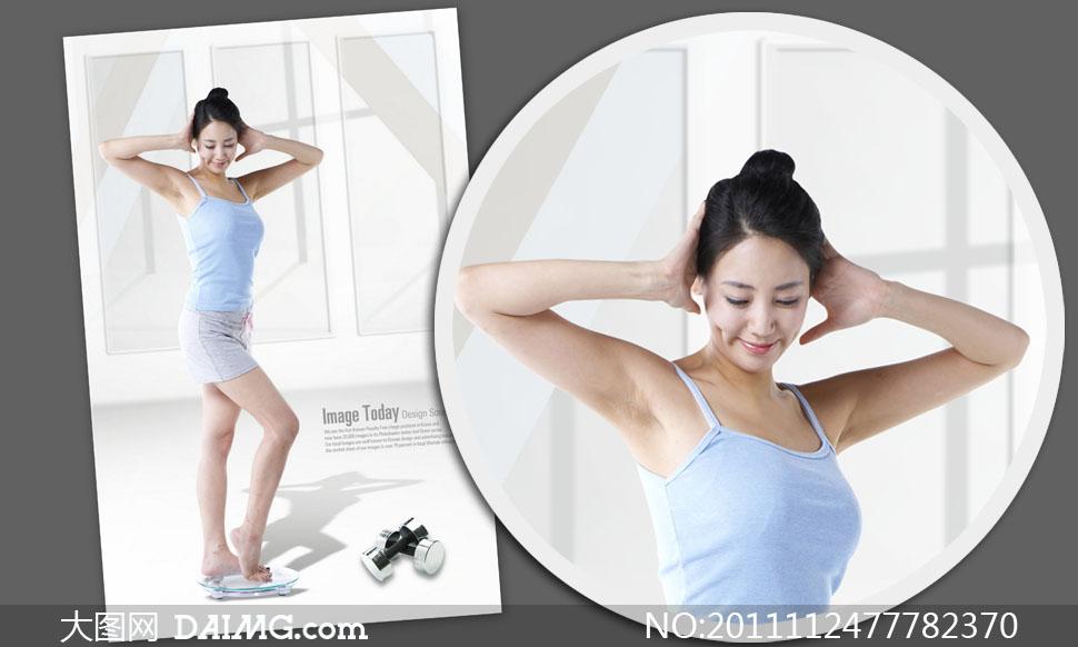 图层已隐藏处理 关键词: psd分层素材韩国素材人物美女女人美容漂亮
