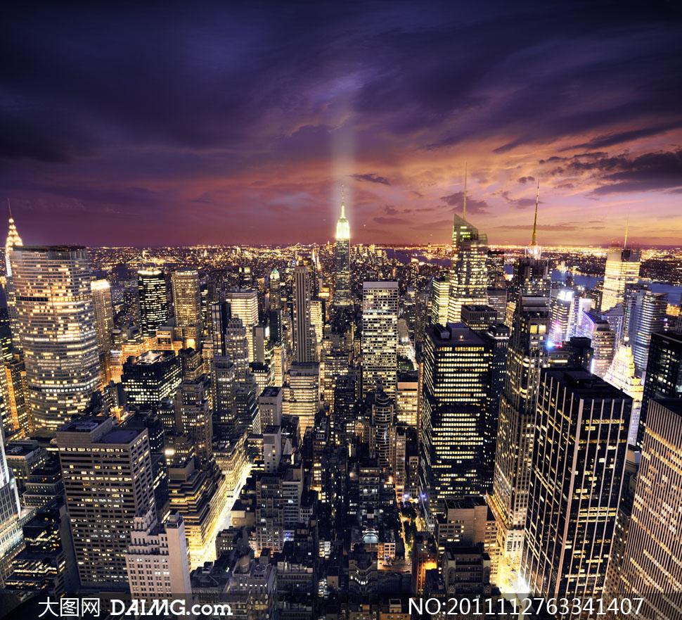 辉煌城市风景壁纸